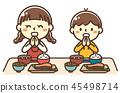 孩子吃日本料理 45498714