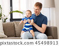 father, son, baby 45498913