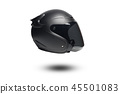 Helmet isolate on white background 45501083