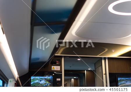 중국 푸싱 고속 열차 인테리어 장식 45501175