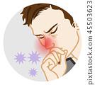 Rhinitis-health problems men 45503623