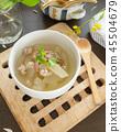 Winter melon Soup,Asian Food,Homemade food,Soup 45504679