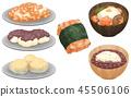 年糕 食物 食品 45506106