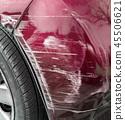 Damaged car 45506621