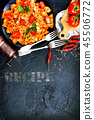 pasta with sauce 45506772