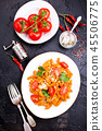pasta with sauce 45506775