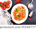 pasta with sauce 45506777