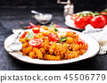 pasta with sauce 45506779