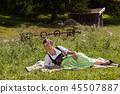 Enjoying free time in the Bavarian Alps. 45507887