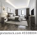 床 卧室 室内装饰 45508004