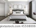 床 卧室 室内装饰 45508006