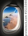 Sahara Desert and the Nile River - Egypt Africa 45515090