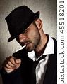 男性 男人 帽子 45518201
