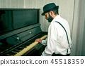 鋼琴 男性 男人 45518359