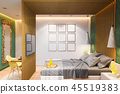 bedroom interior room 45519383
