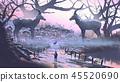 黑斑羚 动物 羚羊 45520690