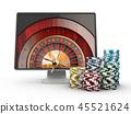 casino, roulette, gambling 45521624