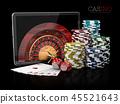 casino, poker, chips 45521643