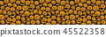 pumpkin, vector, halloween 45522358