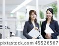 商業 商務 女性白領 45526567