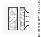 wood floor icon 45527585