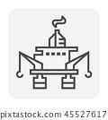 鹤 起重机 图标 45527617