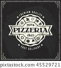 pizza, vector, logo 45529721