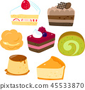 蛋糕,西餐糖果 45533870