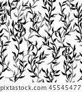 leaf pattern seamless 45545477