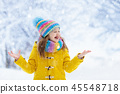snow, child, winter 45548718