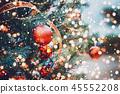 Christmas tree background 45552208