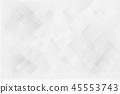 Geometric triangle on gray background 45553743