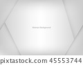Gray abstract background 45553744