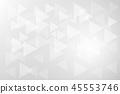 Geometric triangle on gray background 45553746