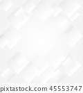 Abstract gray transparent square background 45553747