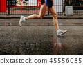 feet male runner 45556085