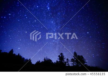시가 고원의 밤하늘 45558135