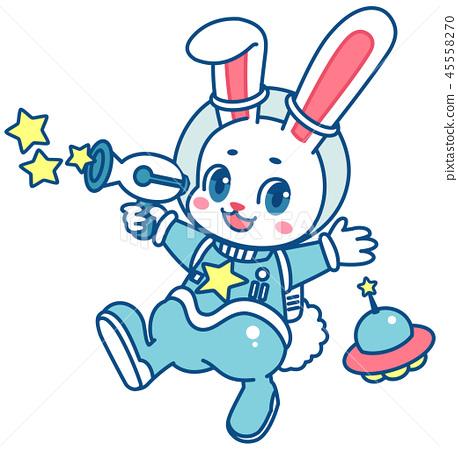 兔子宇航員 45558270