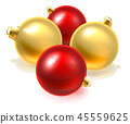 christmas, gold, red 45559625