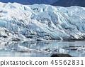 빙하의 얼음 Matanuska Glacier in alaska 45562831