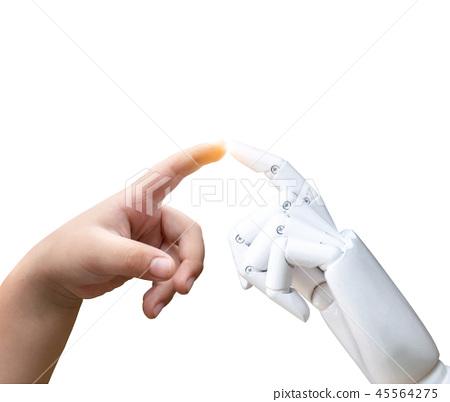 Robotic artificial intelligence future transition  45564275