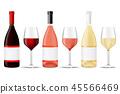 wine, bottle, vector 45566469