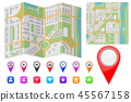 map town marker 45567158