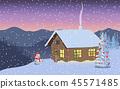 ตุ๊กตาหิมะ,อัสดง,พระอาทิตย์ตก 45571485