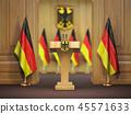 germany, flag, podium 45571633