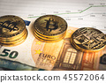 Crypto currency Bitcoin 45572064