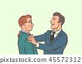 Businessmen friendly meeting 45572312