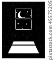 window moon sky 45575205