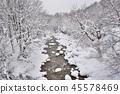Winter river    45578469