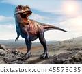3d dinosaur tyrannosaurus 45578635